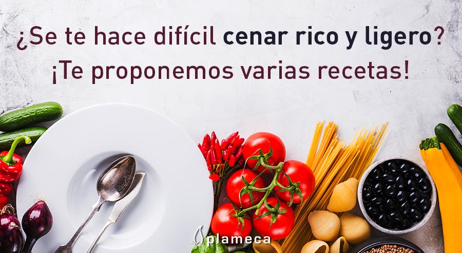 Recetas Para Cenar Ligero Plameca